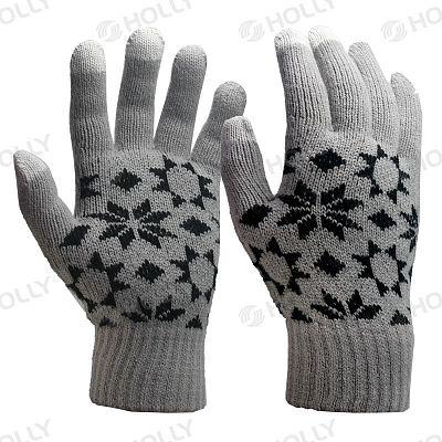 Jacquard Touchscreen Knit